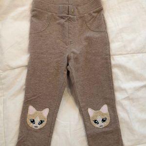 Girls H&M leggings size 6/7